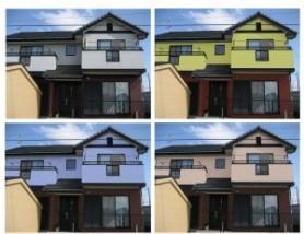 外壁塗装で家をオシャレに!失敗しない塗装の決め方とは?