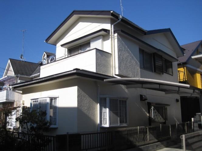 屋根・外装塗装工事厚木市妻田南 W様邸