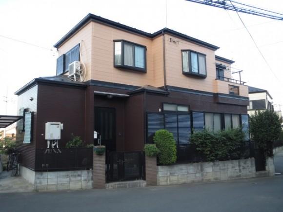 屋根・外壁塗装工事厚木市船子 S様邸