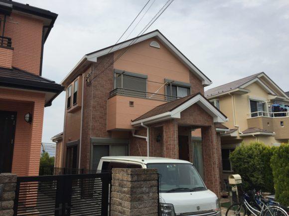 屋根・外壁塗装工事(遮熱フッ素&フッ素クリヤープラン)