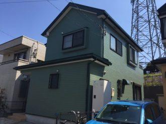 屋根・外壁塗装工事(遮熱フッ素・ピュアアクリルプラン)厚木市愛甲 M様邸