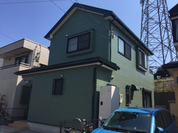屋根・外壁塗装工事(遮熱フッ素・ピュアアクリルプラン)