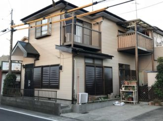 屋根・外壁塗装工事(遮熱フッ素&ピュアアクリルプラン)