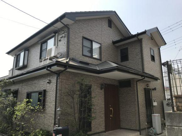 屋根・外壁塗装工事(遮熱フッ素・クリヤープラン)厚木市みはる野 N様邸