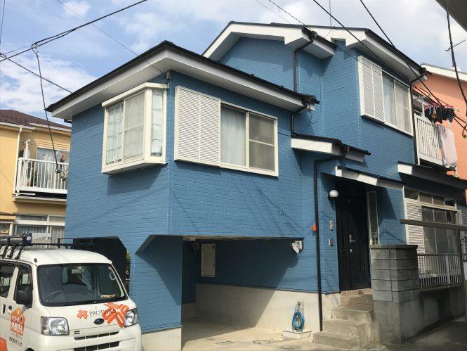 屋根・外壁塗装/一部外壁張り替え工事(遮熱フッ素プラン)
