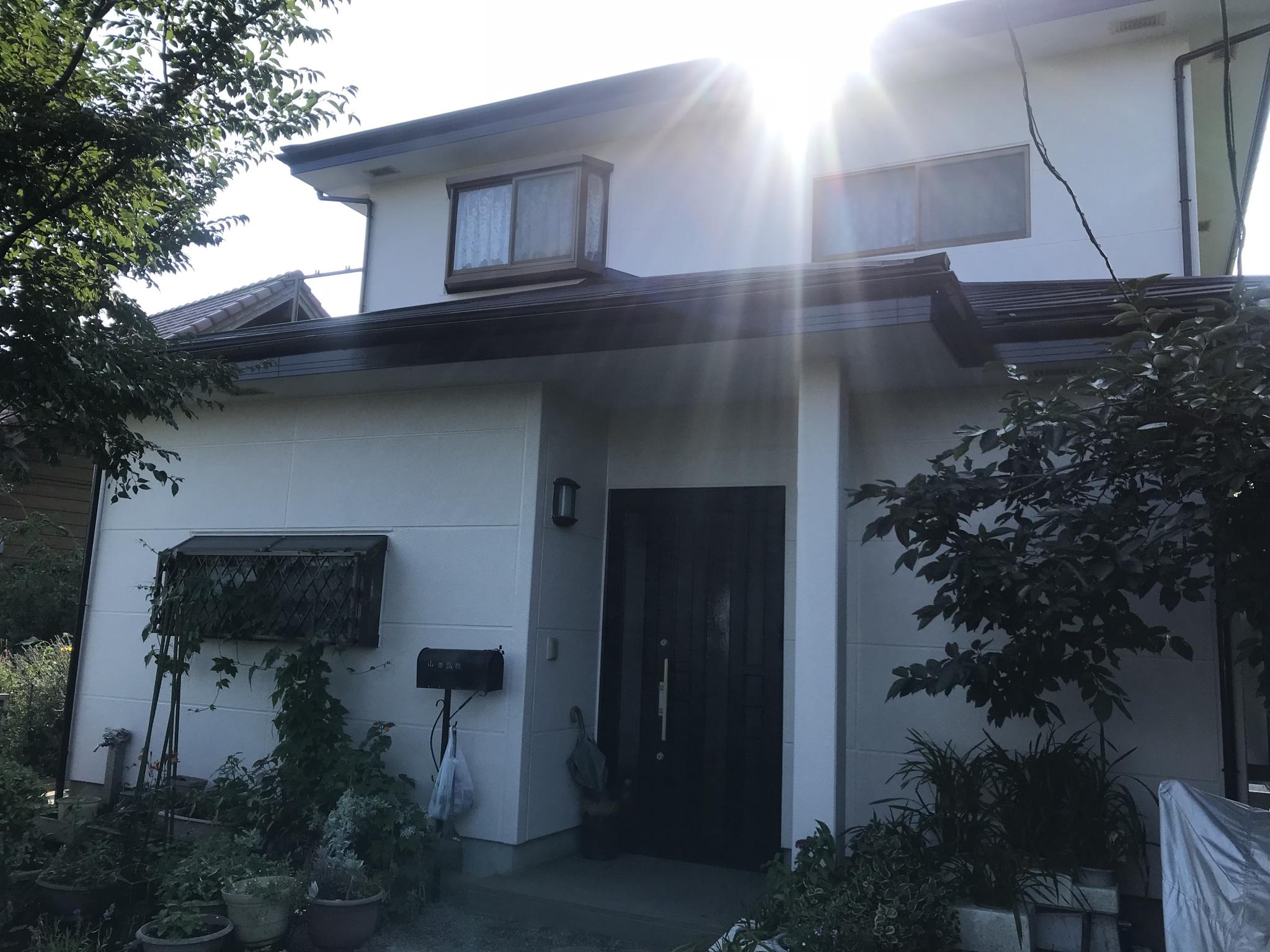 外壁塗装/屋根重ね葺き工事(遮熱フッ素プラン)