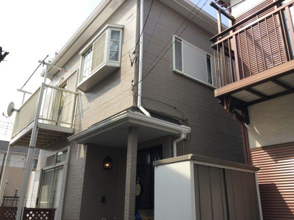 屋根・外壁塗装/一部外壁張り替え工事(シリコンプラン)