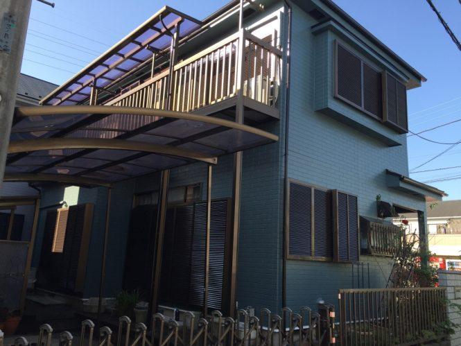 屋根・外壁塗装工事(遮熱フッ素&ピュアアクリルプラン)座間市座間 A様邸