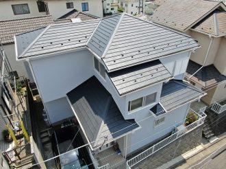 外壁塗装/屋根重ね葺き工事(シリコンプラン)