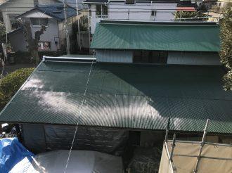 屋根塗装/屋根重ね葺き工事(シリコンプラン)