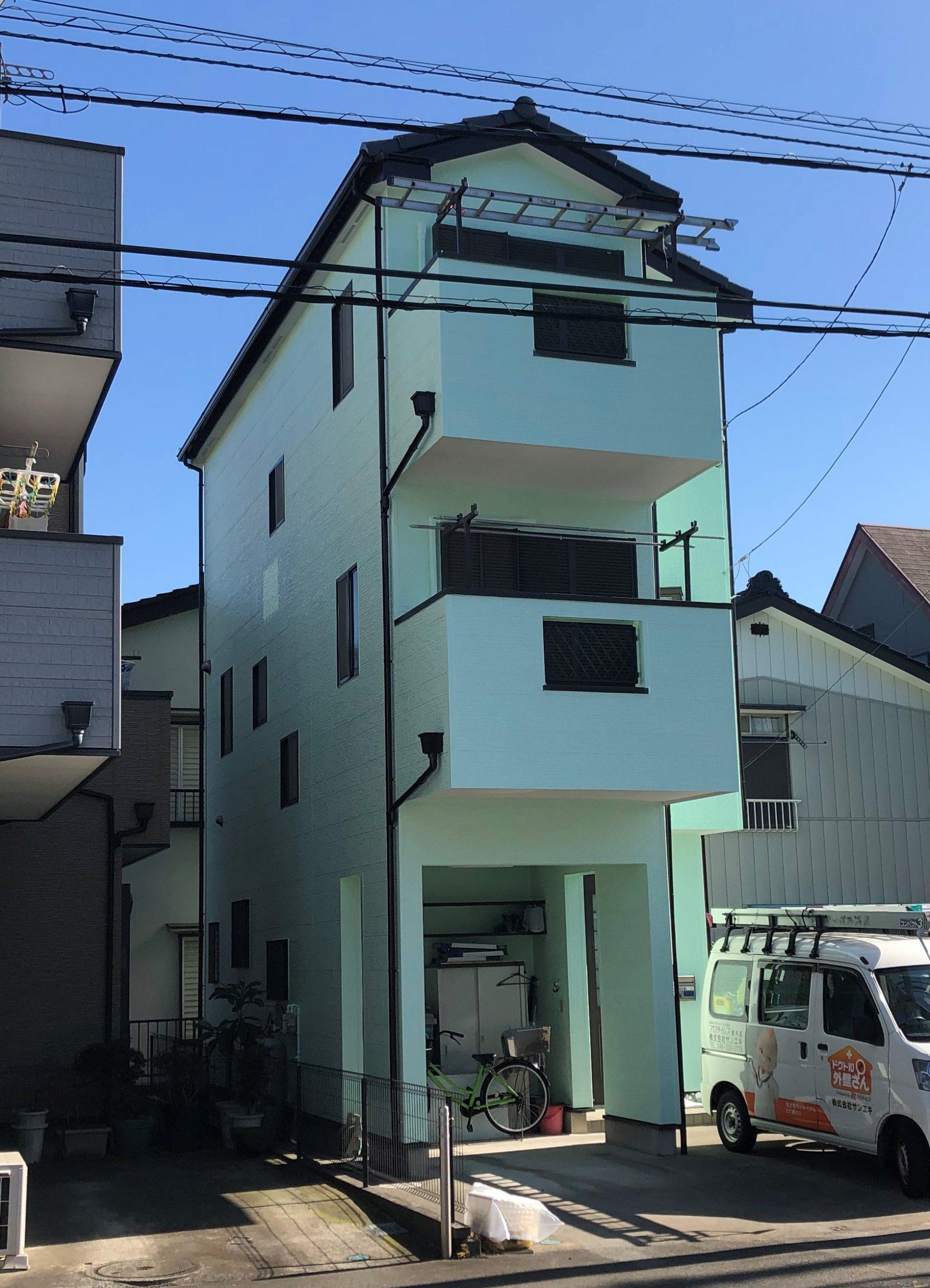 屋根・外壁塗装工事(ハイクラスシリコンプラン)