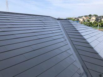 屋根塗装工事(無機プラン)