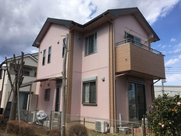 屋根・外壁塗装工事(遮熱ハイクラスシリコン・クリヤープラン)