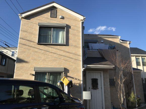 屋根・外壁塗装/玄関ドア交換工事(遮熱フッ素・クリヤープラン)