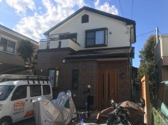 外壁塗装/屋根重ね葺き工事(遮熱フッ素・クリヤープラン)