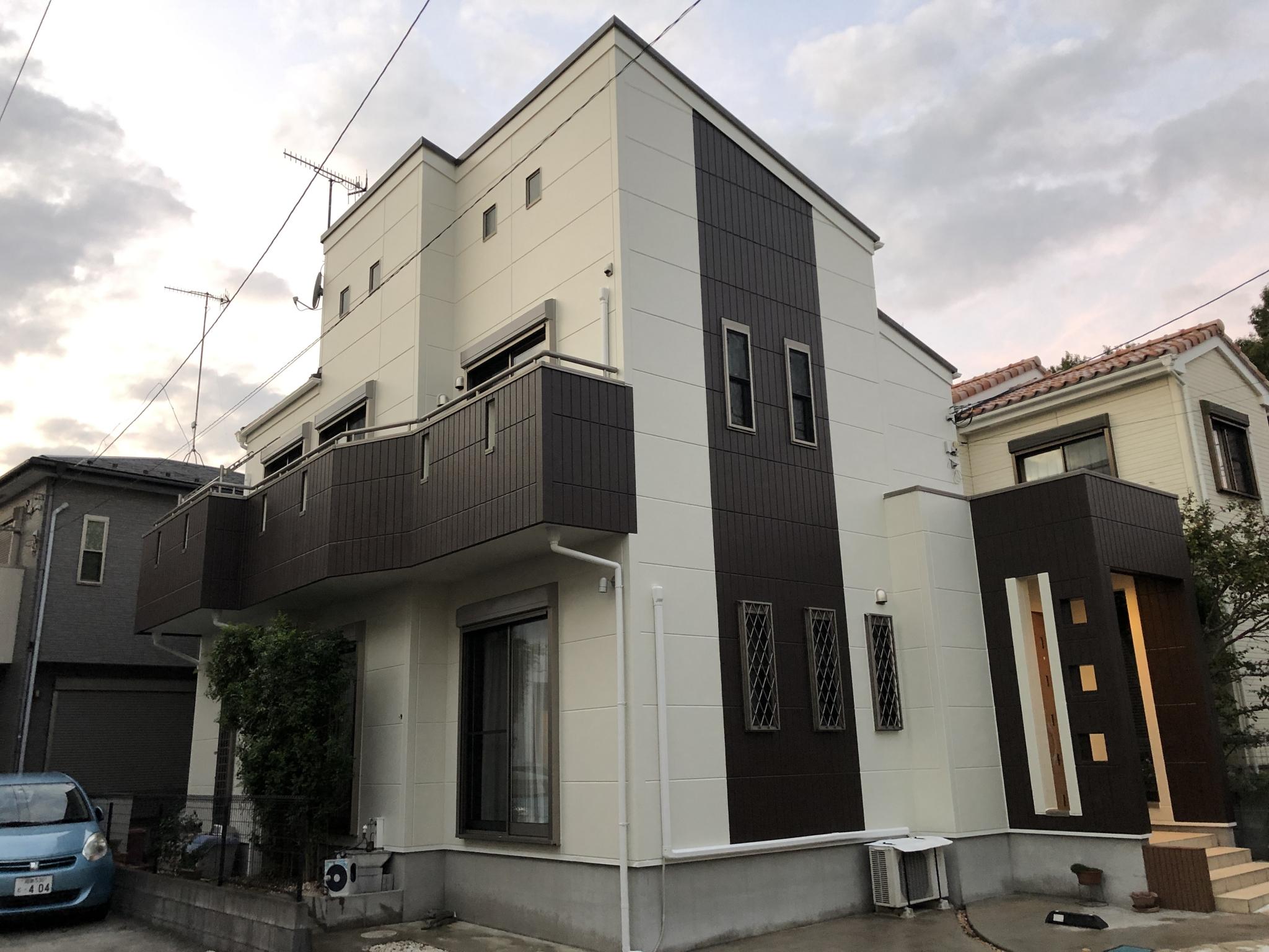 外壁塗装工事(ハイクラスシリコンプラン)
