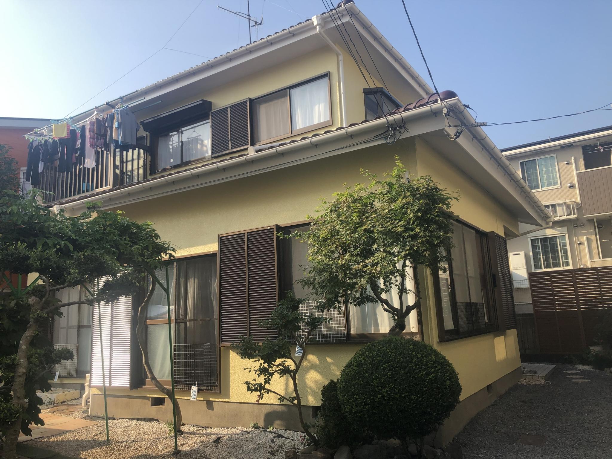 屋根・外壁塗装/樋交換工事(シリコンプラン)