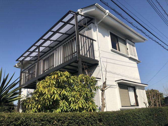 屋根・外壁塗装/ベランダ交換工事(シリコンプラン)