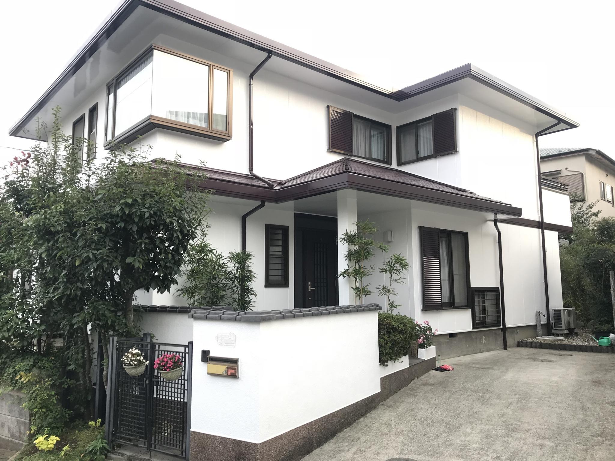 屋根・外壁塗装工事(遮熱ハイクラスシリコンプランプラン)