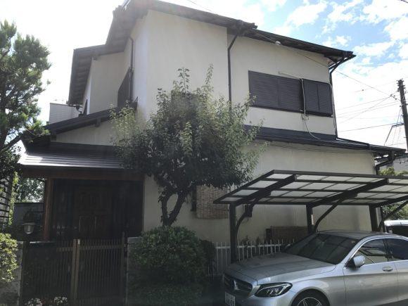 外壁・付帯塗装/屋根葺き替え/雨戸一筋交換工事(シリコンプラン)