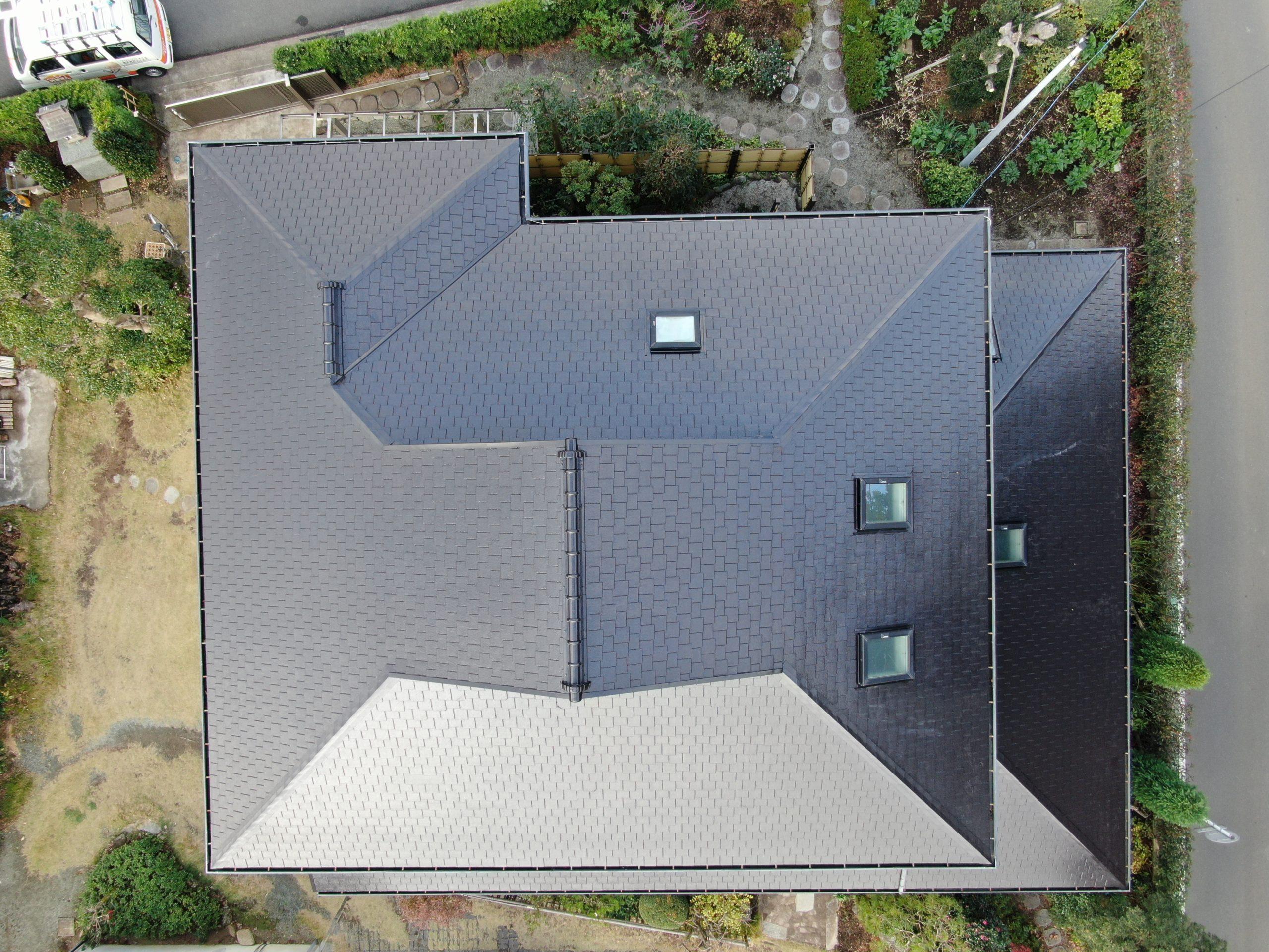 屋根塗装工事(遮熱ハイクラスシリコンプラン)