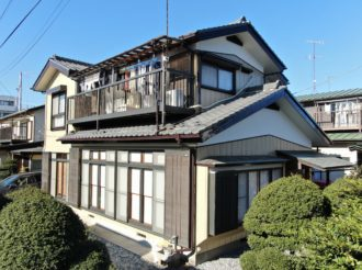 外壁塗装/屋根補修工事(遮熱ハイクラスシリコンプラン)