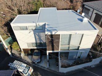 陸屋根・外壁塗装工事(遮熱フッ素プラン)