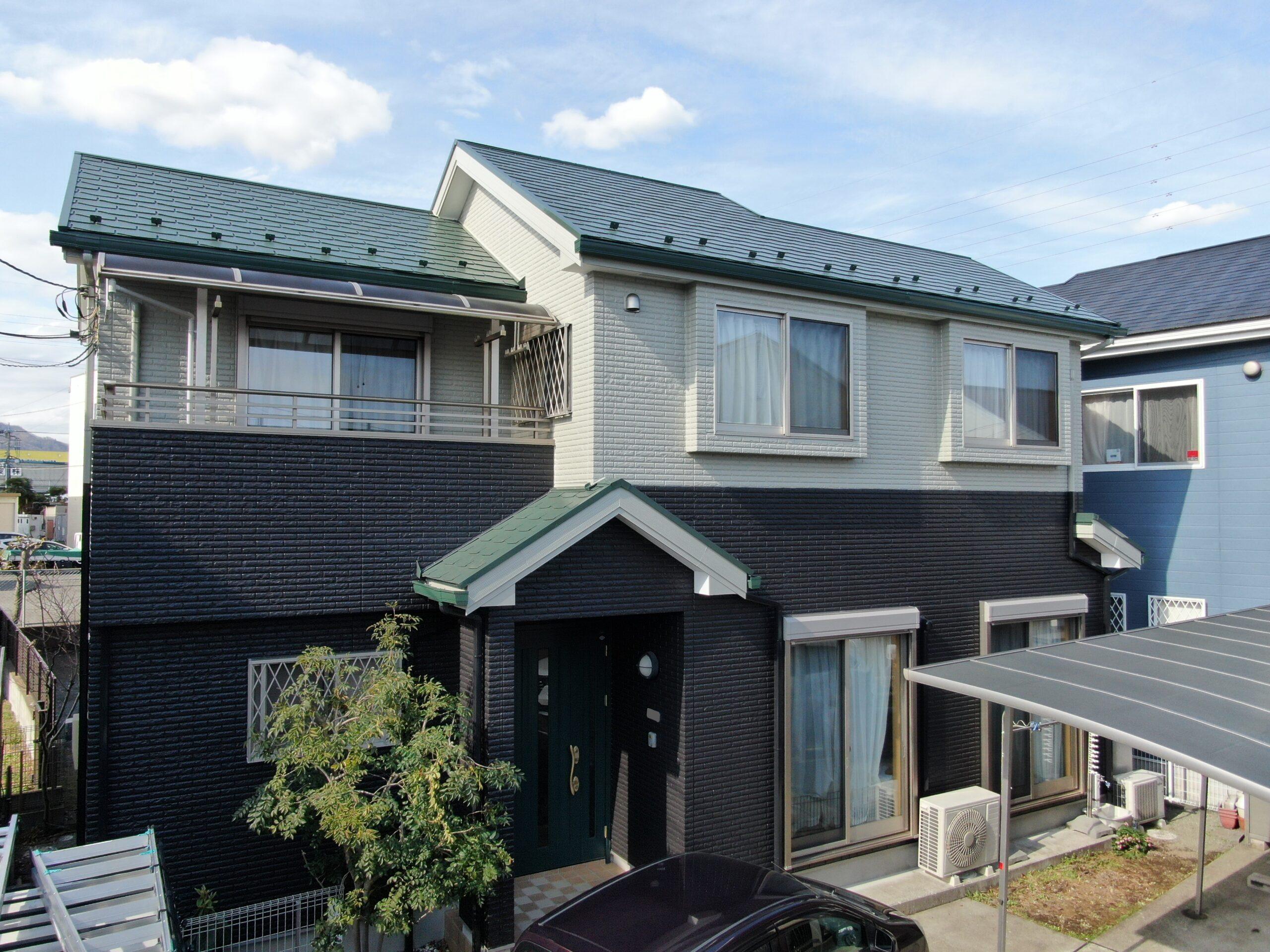 屋根・外壁塗装工事(遮熱フッ素プラン)厚木市飯山 W様邸