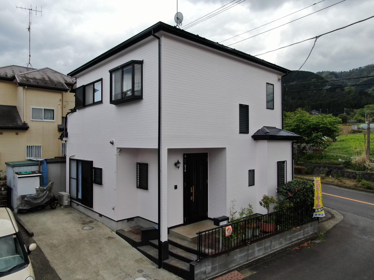 屋根・外壁塗装工事(遮熱ハイクラスシリコンプラン)愛川町半原 K様邸
