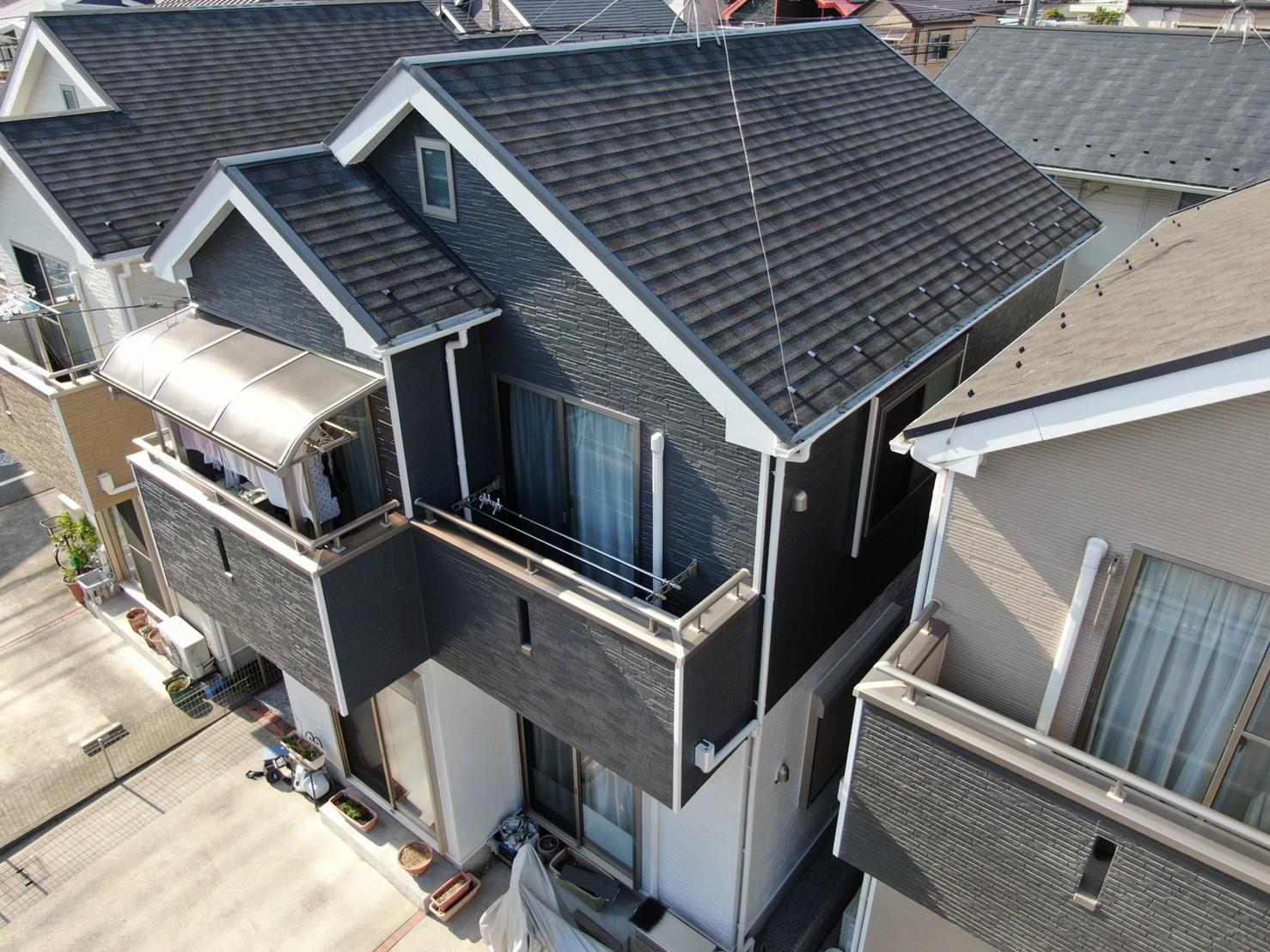 外壁塗装工事(遮熱ハイクラスシリコンプラン)厚木市上落合 M様邸