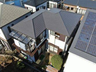 屋根重ね葺き・外壁塗装工事(低汚染・遮熱フッ素プラン)