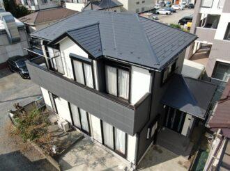屋根・外壁塗装工事(遮熱ハイクラスシリコンプラン)厚木市上依知 Y様邸